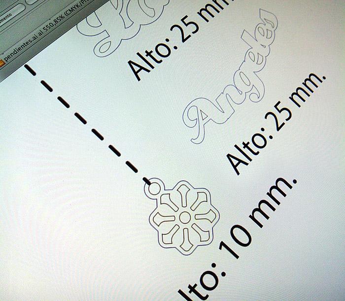 diseño de pendientes personalizados