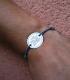 Pulsera personalizada de plata para hombre