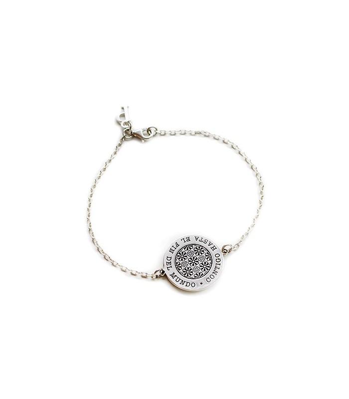 pulsera personalizada Nero de plata