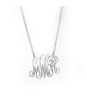 collar monograma 2 letras