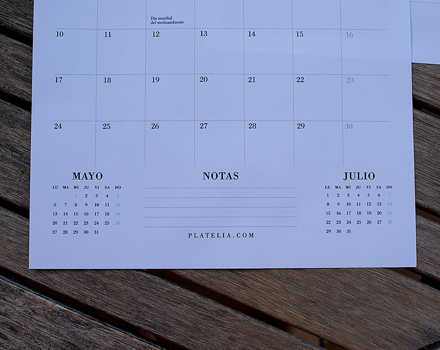 calendario 2019 gratis e imprimible