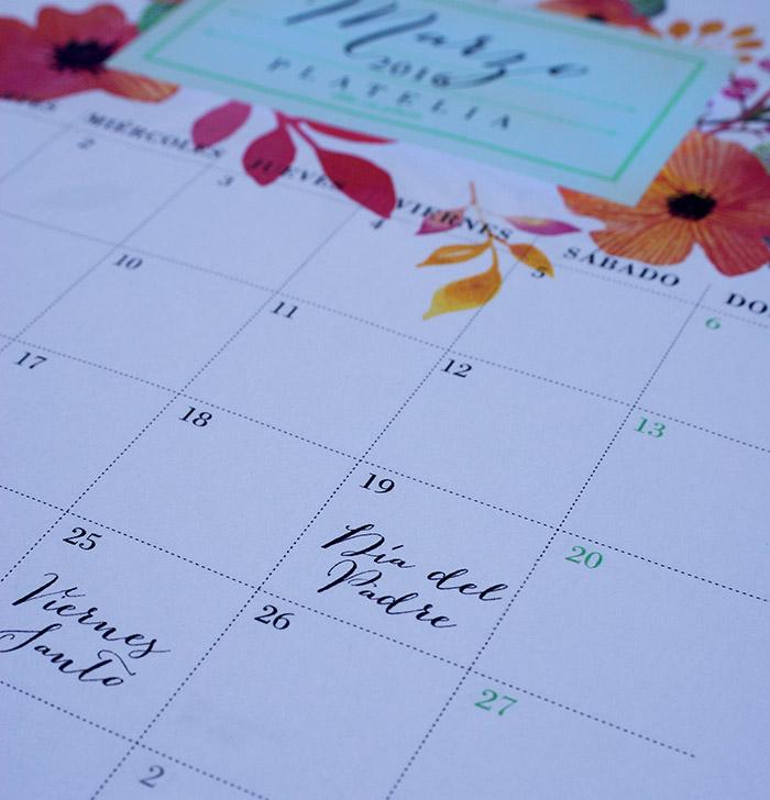 calendario 2016 imprimir