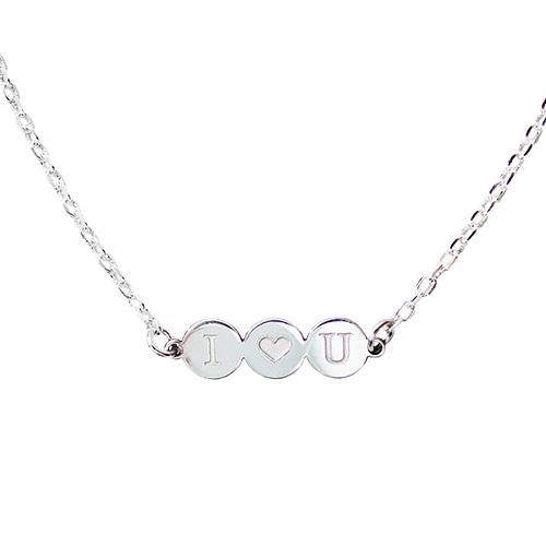 collar personalizado circles