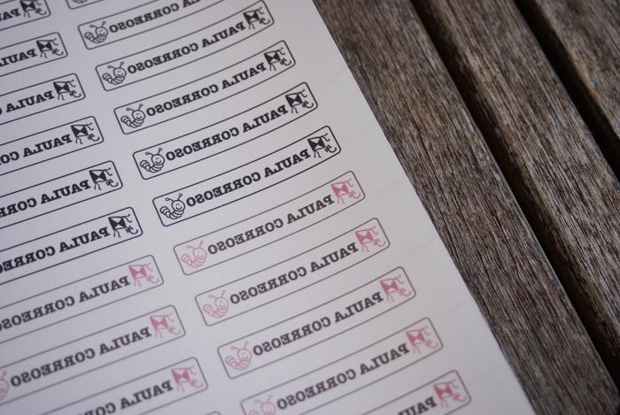 etiquetas DIY cole