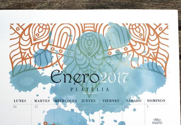 Calendario 2017 mi regalo más personalizado
