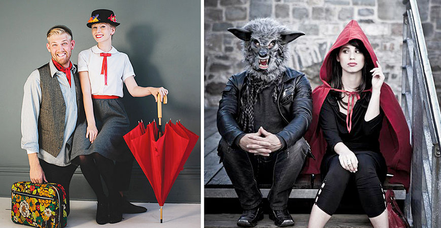 Carnaval: ideas de disfraces en pareja