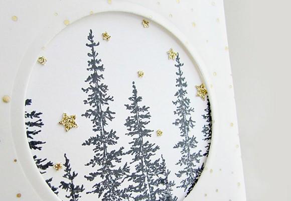 Ideas DIY para hacer tarjetas de Navidad