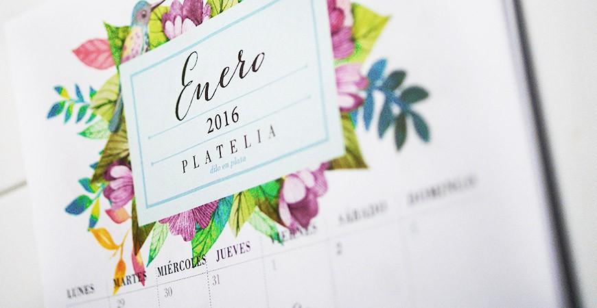 Un regalo muy personal: Calendario 2016